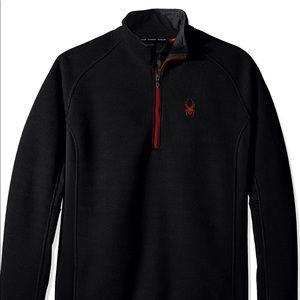 Spyder Half Zip Outbound Stryke Sweater Large